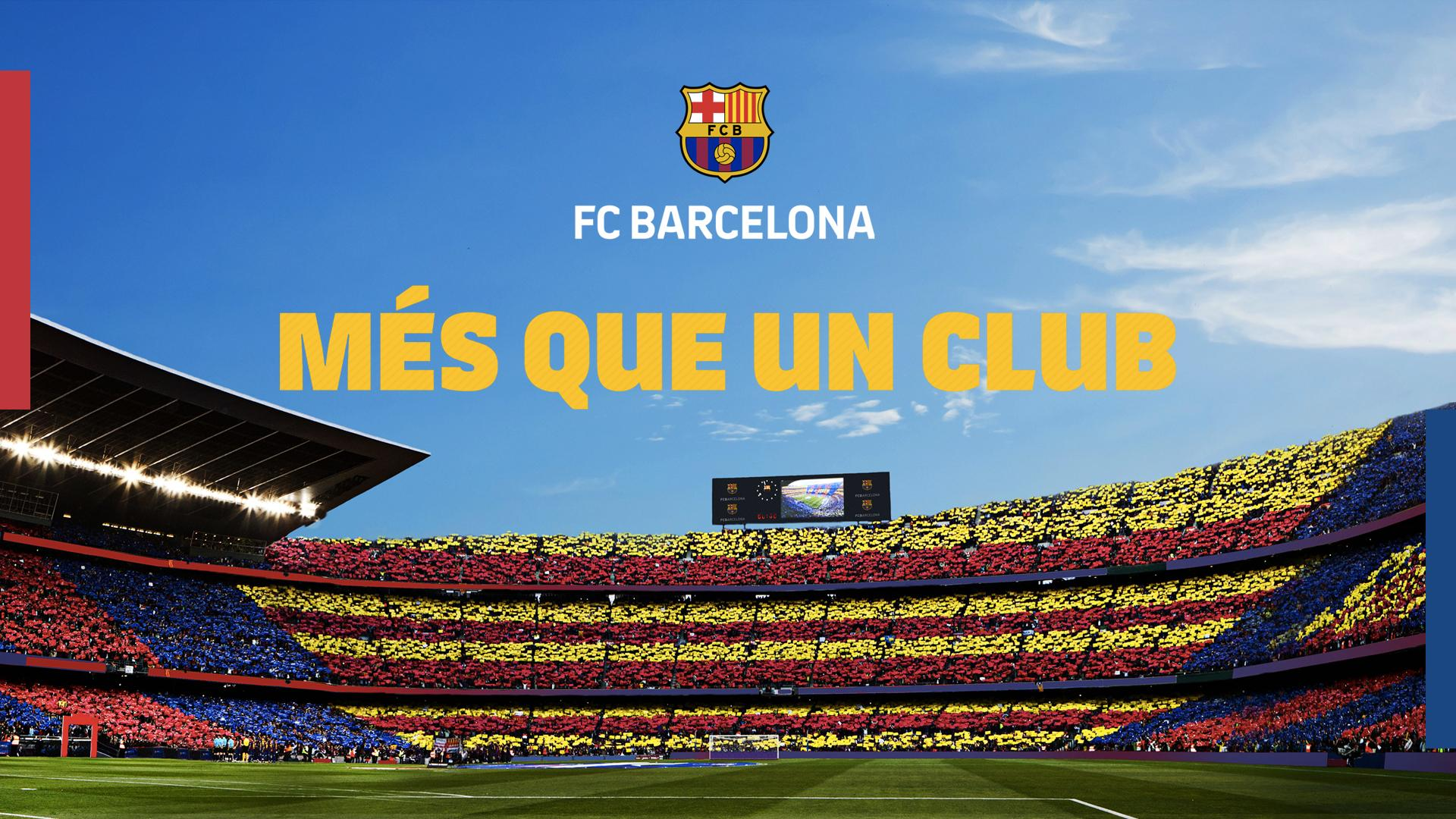 1920x1080px fc barcelona 2019 wallpapers wallpapersafari - Camp nou 4k wallpaper ...